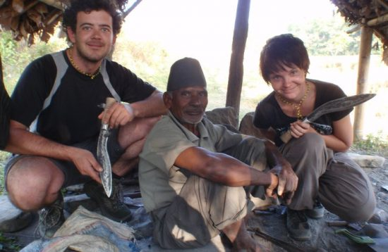 Khukuri-making